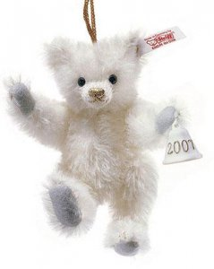 STEIFF Christmas Lladro Bear Ornament 2007 [02-676901