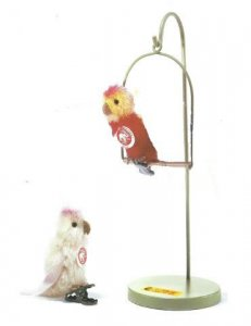 STEIFF Birds on a Swing/Perch