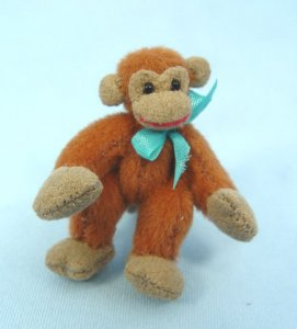 Deb Canham Doll House Red Monkey