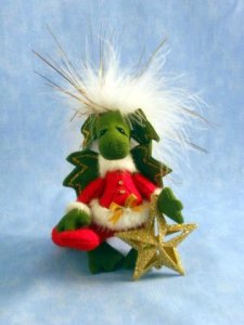 Deb Canham Christmas Dragon Claus