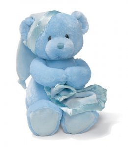 Gund Nighty Night Bear Blue