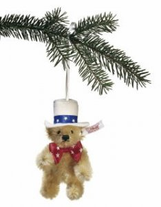 STEIFF Ornament First American 2005*