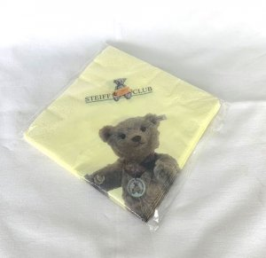 STEIFF Club Paper Napkins Set