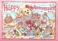 Cards BOYDS Anniversary Chocolate