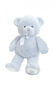 Gund My First Teddy™ Blue 15""