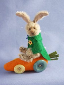 Deb Canham Easter Bunny Wheels