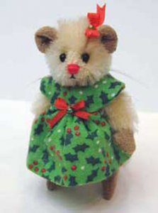 Deb Canham Mice Christmas Miss Holly