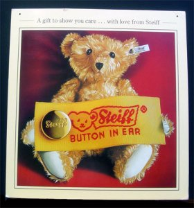 STEIFF Sales Aid Poster