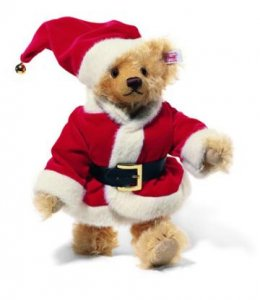 STEIFF Christmas Silent Night Bear 04*