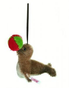 STEIFF Ornament Christmas Seal 2006