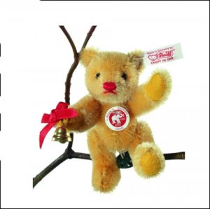 STEIFF Ornament Gold Bear 2006