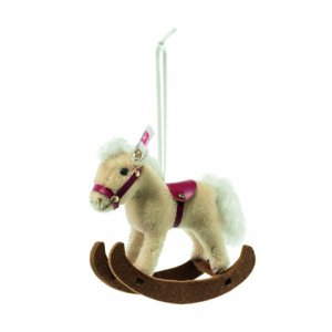 STEIFF Rocking Horse Ornament