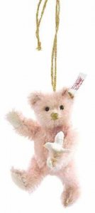 STEIFF Ornament Llardo Pink Teddy 2008