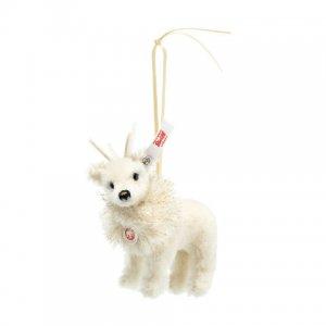 STEIFF Winter Reindeer Ornament
