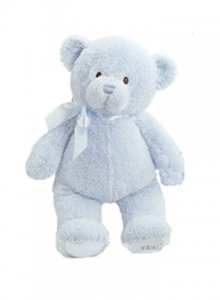 Gund My First Teddy™ Blue 18""