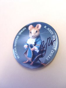 R. John Wright Gentleman Mouse™ Button