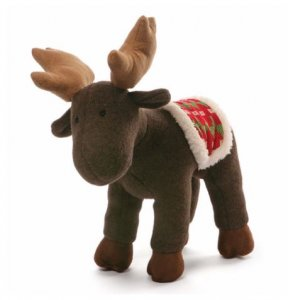 GUND Winter Moose Brown
