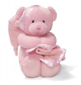 Gund Nighty Night Bear Pink