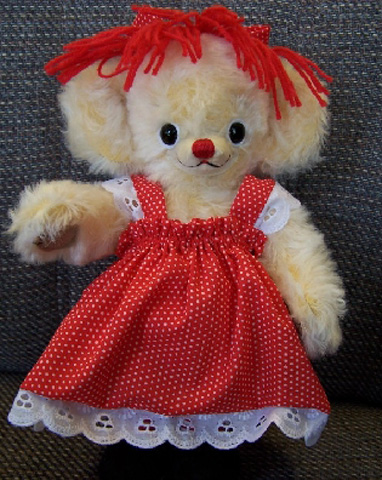 Cheeky Raggedy Ann - Click Image to Close