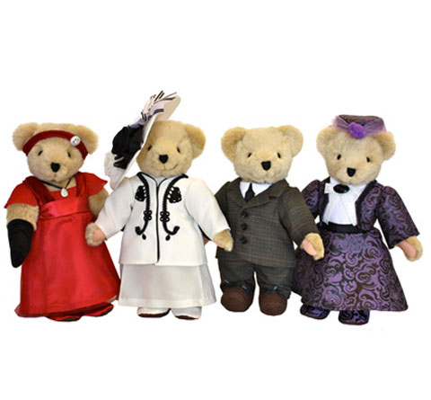 NABCO Downton Abbey® Bears - Click Image to Close