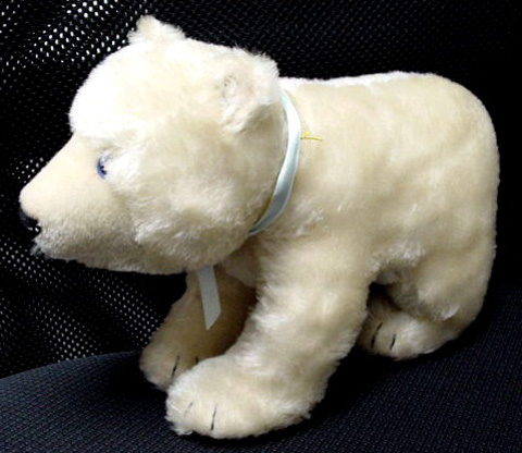 STEIFF Polar Bear 1950* - Click Image to Close