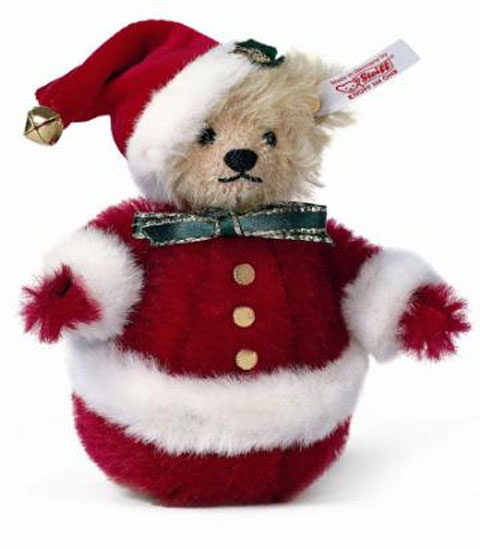 STEIFF Christmas Roly Poly Santa 2003* - Click Image to Close