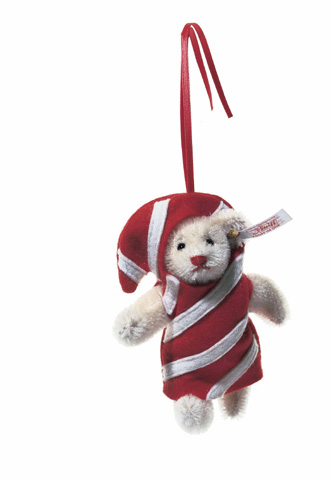 STEIFF Ornament Candy Cane 2004* - Click Image to Close