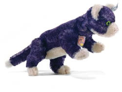 STEIFF Kitty,The Purple Cat - Click Image to Close