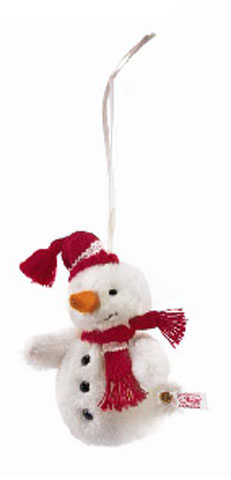 STEIFF Alpaca Snowman - Click Image to Close